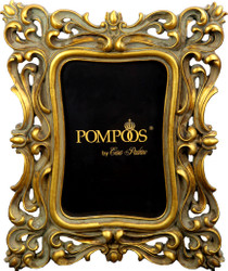Pompöös by Casa Padrino Baroque Picture Frame Gold by Harald Glööckler 23.5 x 19 cm - Antique Style Photo Frame