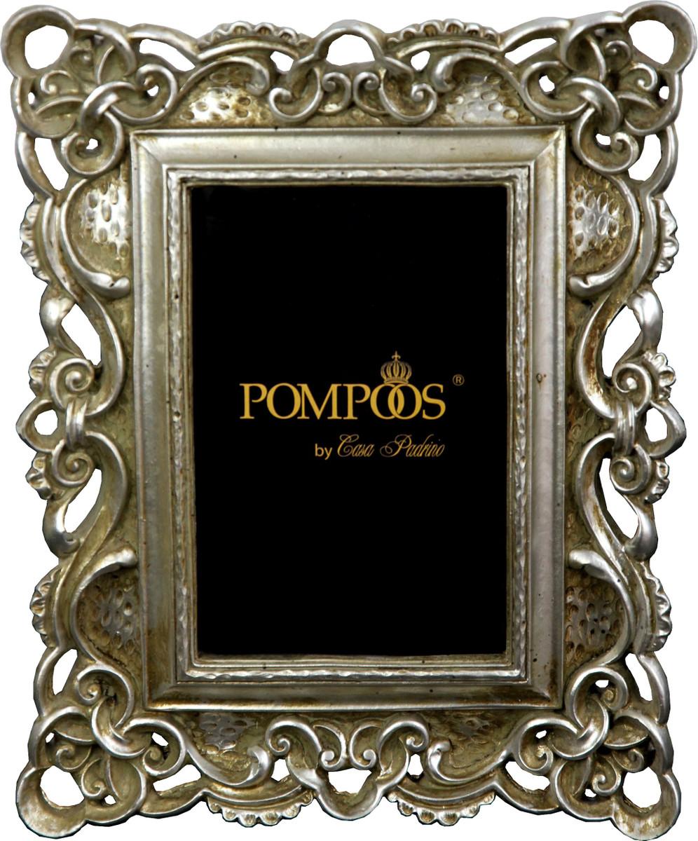 pompöös by casa padrino barock bilderrahmen antik stil silber von