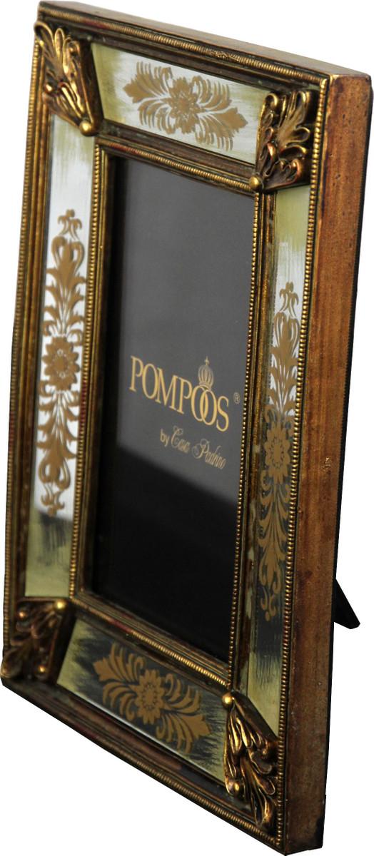 Pompöös by Casa Padrino Barock Bilderrahmen Gold von Harald Glööckler 23 x 17.6 cm - Antik Stil Foto Rahmen 2
