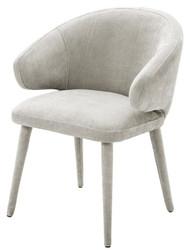 Casa Padrino designer dining chair sand colors 62 x 55 x H. 79 cm - Luxury Furniture