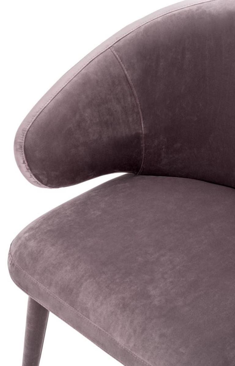 Casa padrino designer esszimmerstuhl taupe 62 x 55 x h 79 for Designer esszimmerstuhl