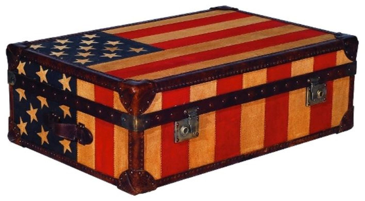 - Casa Padrino Luxury Chest Stars & Stripes 90 X 60 X H. 30 Cm