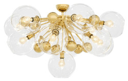 Casa Padrino luxury ceiling light gold Ø 90 x H. 57 cm - Luxury Collection