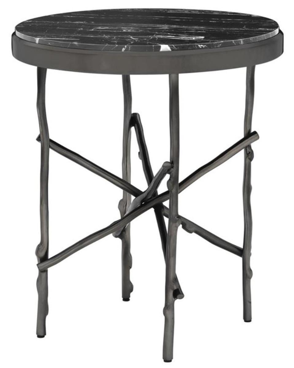casa padrino luxus beistelltisch bronze schwarz 50 5 x h 58 5 cm luxus m bel. Black Bedroom Furniture Sets. Home Design Ideas