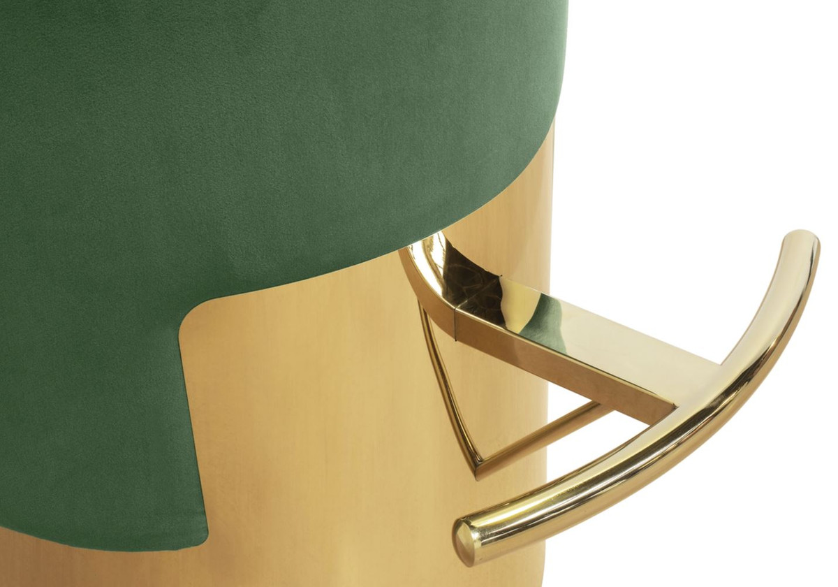 Casa Padrino Luxury Bar Stool Green Gold 216 46 X H 76 Cm