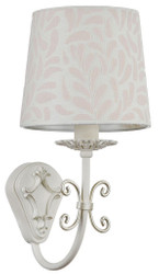 Casa Padrino Baroque Wall Lamp White / Cream 16 x 20 x H. 32 cm - Baroque Style Furniture