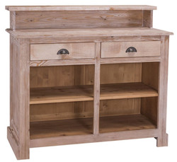 Casa Padrino country style bar cabinet natural colors 120 x 51 x H. 107 cm - Country Style Furniture