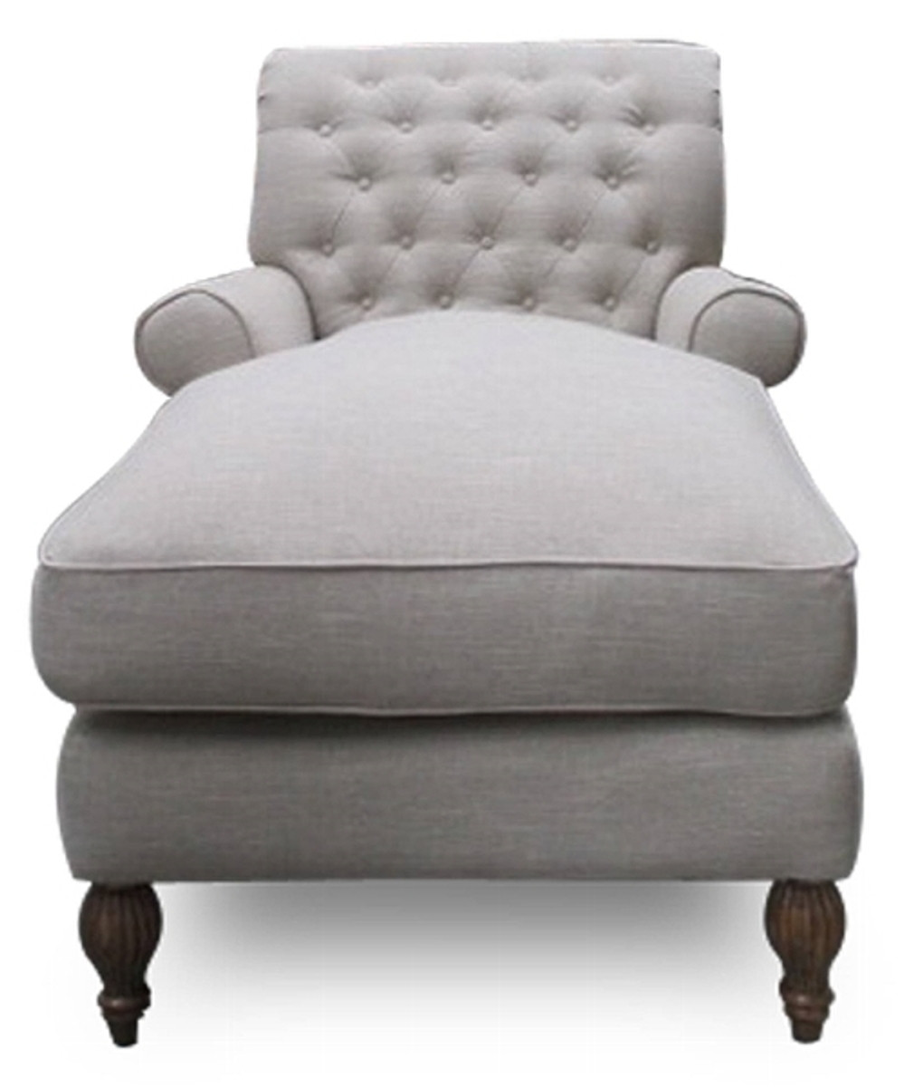 Casa Padrino Chesterfield Lounge Armchair Natural Colors 93 X 149 X