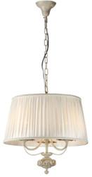 Casa Padrino Baroque Pendant Lamp Ivory / Cream Ø 44 x H. 42 cm - Furniture in Baroque Style