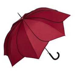 "Designer Regenschirm ""Minou"", Seerosenblüte -  Eleganter Stockschirm - Automatikschirm"