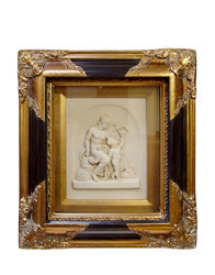 Casa Padrino Baroque wall decoration picture frame with antique style portrait