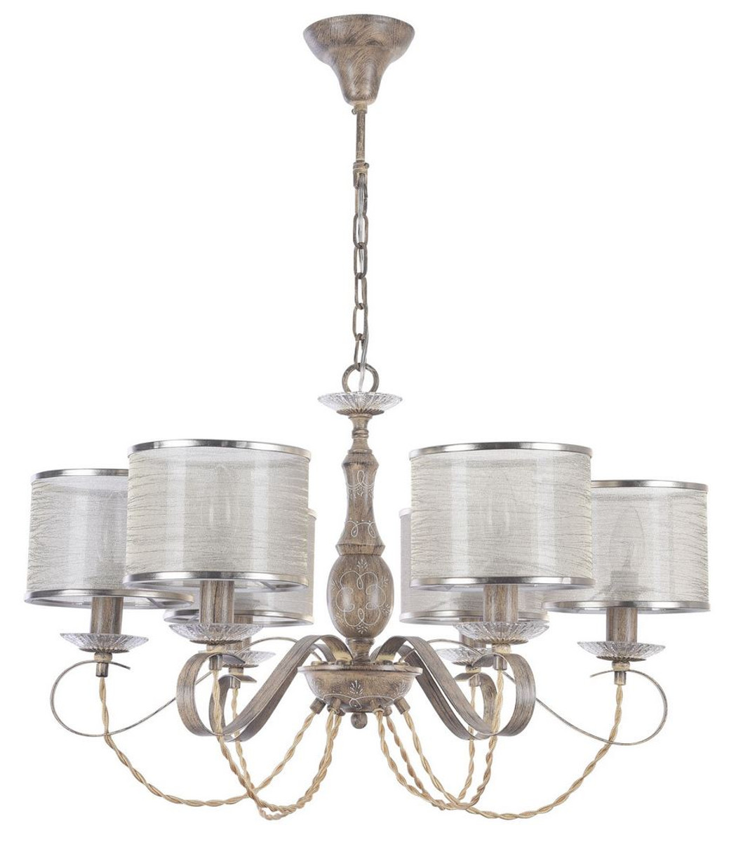 Baroque chandeliers casa padrino baroque style chandelier brown 67 x h 44 cm baroque chandelier aloadofball Images