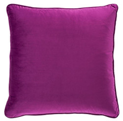 Casa Padrino Luxury Cushion Purple 60 x 60 cm - Luxury Living Room Decoration Accessories