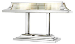 Casa Padrino luxury desk lamp / table lamp silver 69 x 29 x H. 40 cm - Luxury Office Furniture