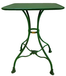 Casa Padrino Garden Table 60 x 60 x H. 75 cm - Various Colors - Wrought Iron Garden Furniture