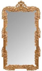 Casa Padrino Baroque Mirror / Wall Mirror Gold 122 x H. 224 cm - Baroque Style Furniture