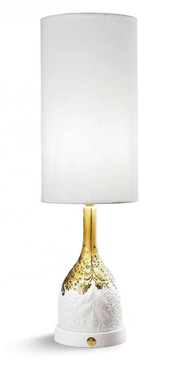 Lampada Da Tavolo Di Lusso Casa Padrino Porcellana Bianca Oro H53 X 17 Cm Lampada Da Tavolo Di Lusso Casa Padrino De