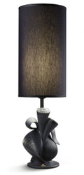 Casa Padrino Luxury Table Lamp Lladro Black - Luxury Table Lamp Interior