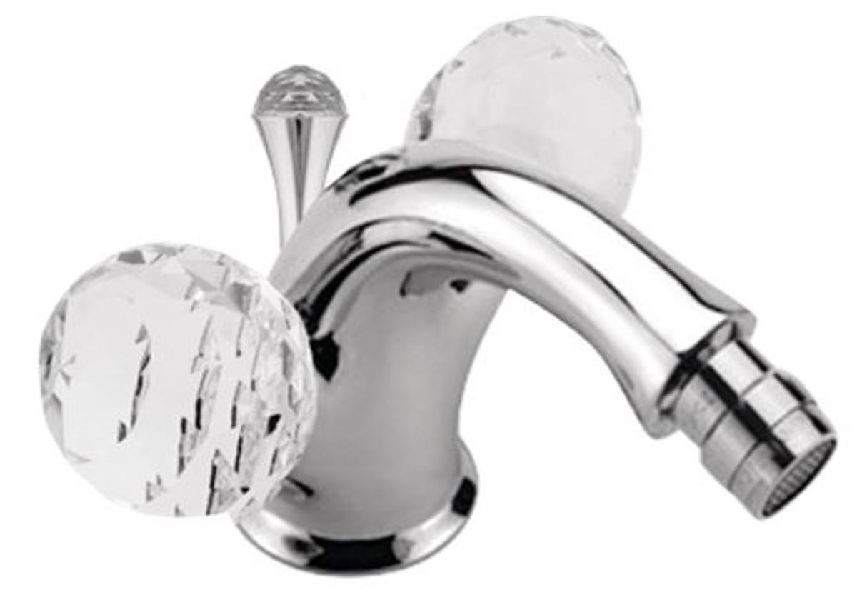 Luxus badewannenarmatur mit swarovski kristallglas silber 12 x h 10 5 cm luxus bad zubeh r - Swarovski badezimmer ...