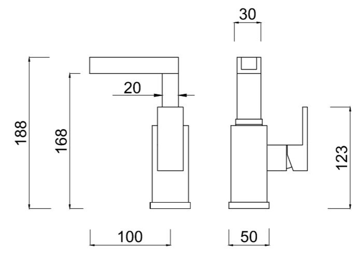 luxus badezimmer waschtischarmatur silber h 18 8 cm einhand waschtischbatterie mit wasserfall. Black Bedroom Furniture Sets. Home Design Ideas