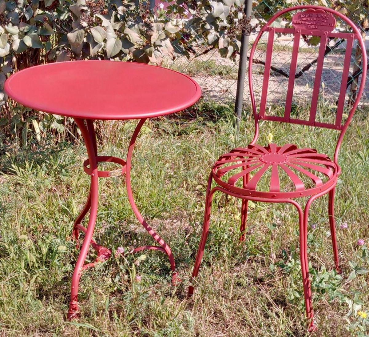 casa padrino art nouveau garden furniture set various. Black Bedroom Furniture Sets. Home Design Ideas
