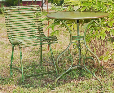 Casa Padrino Art Nouveau Garden Table & Garden Chair - Various ...