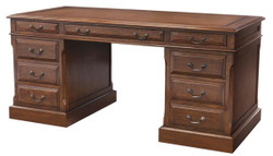Casa Padrino Luxury Desk Dark Brown 170 x 80 x H. 78 cm - Furniture in The English Colonial Style