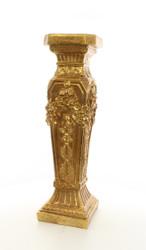 Casa Padrino Baroque Column Gold 24.2 x 24.3 x H.82.9 - Splendid
