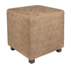 Casa Padrino Stool / Sitting Stool Light Brown 45 x 45 x H. 45 cm - Luxury Furniture