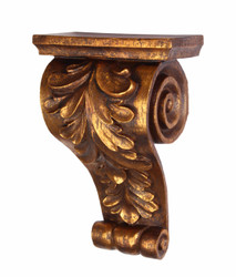 Casa Padrino Baroque Wall Console Antique Gold - Hotel Furniture