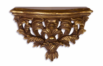 Arredamento Barocco Antico : Consolle a muro in stile barocco padrino oro antico gold 29 5 x 20 1