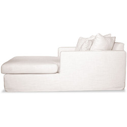 Casa Padrino luxury living room couch white - luxury quality - sofa bed