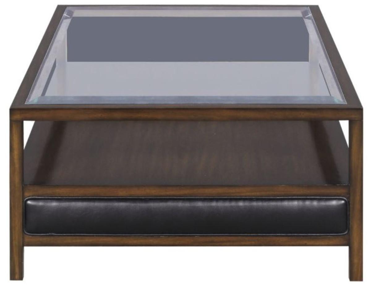 - Casa Padrino Luxury Coffee Table Brown / Black 120 X 80 X H. 41 Cm
