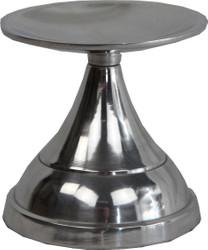 Casa Padrino Kerzenständer Aluminium 10 x H 10 cm - Shine Deco Dekoration
