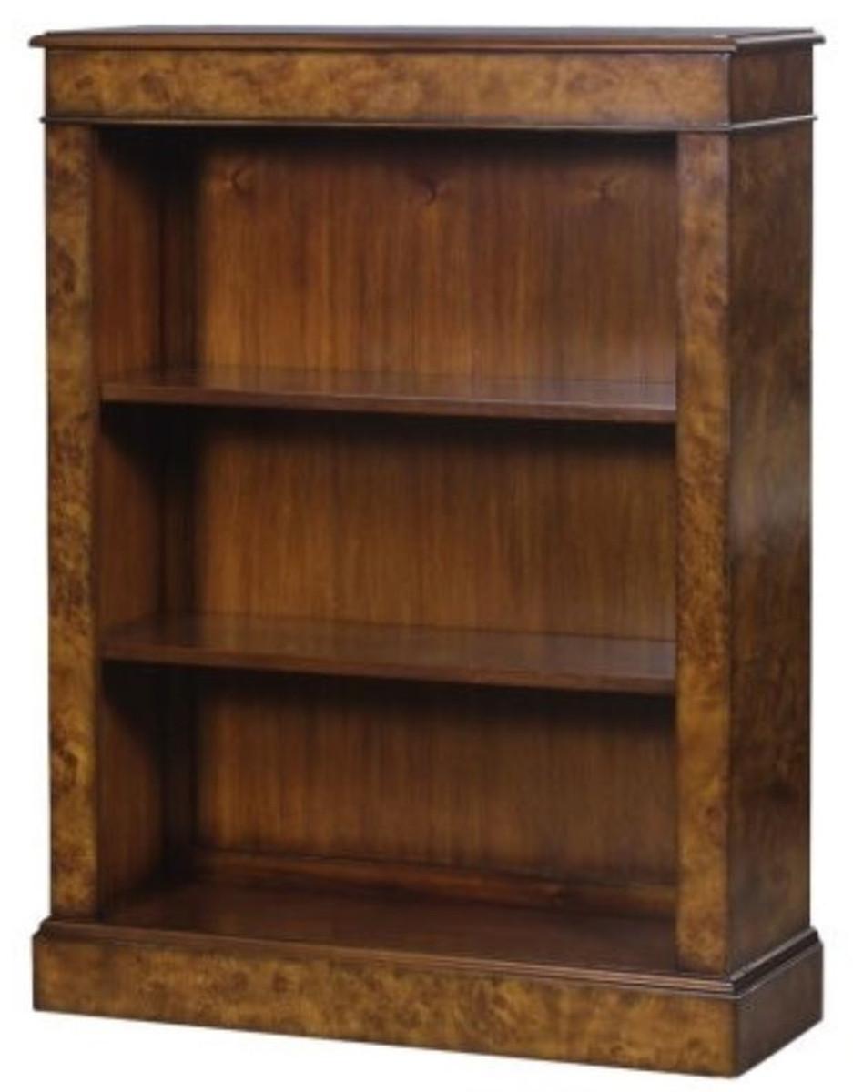 Casa Padrino Luxus Bücherschrank Braun 91 x 31 x H. 123 cm - Luxus ...