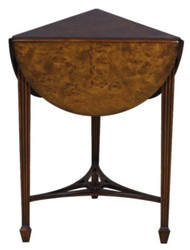 Casa Padrino Luxury Living Room Side Table Brown 52 x 46 x H. 71 cm - Luxury Quality