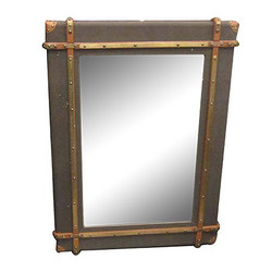 Casa Padrino Luxury Art - Deco wall mirror Olive 90 x H. 120 cm - Luxury Collection