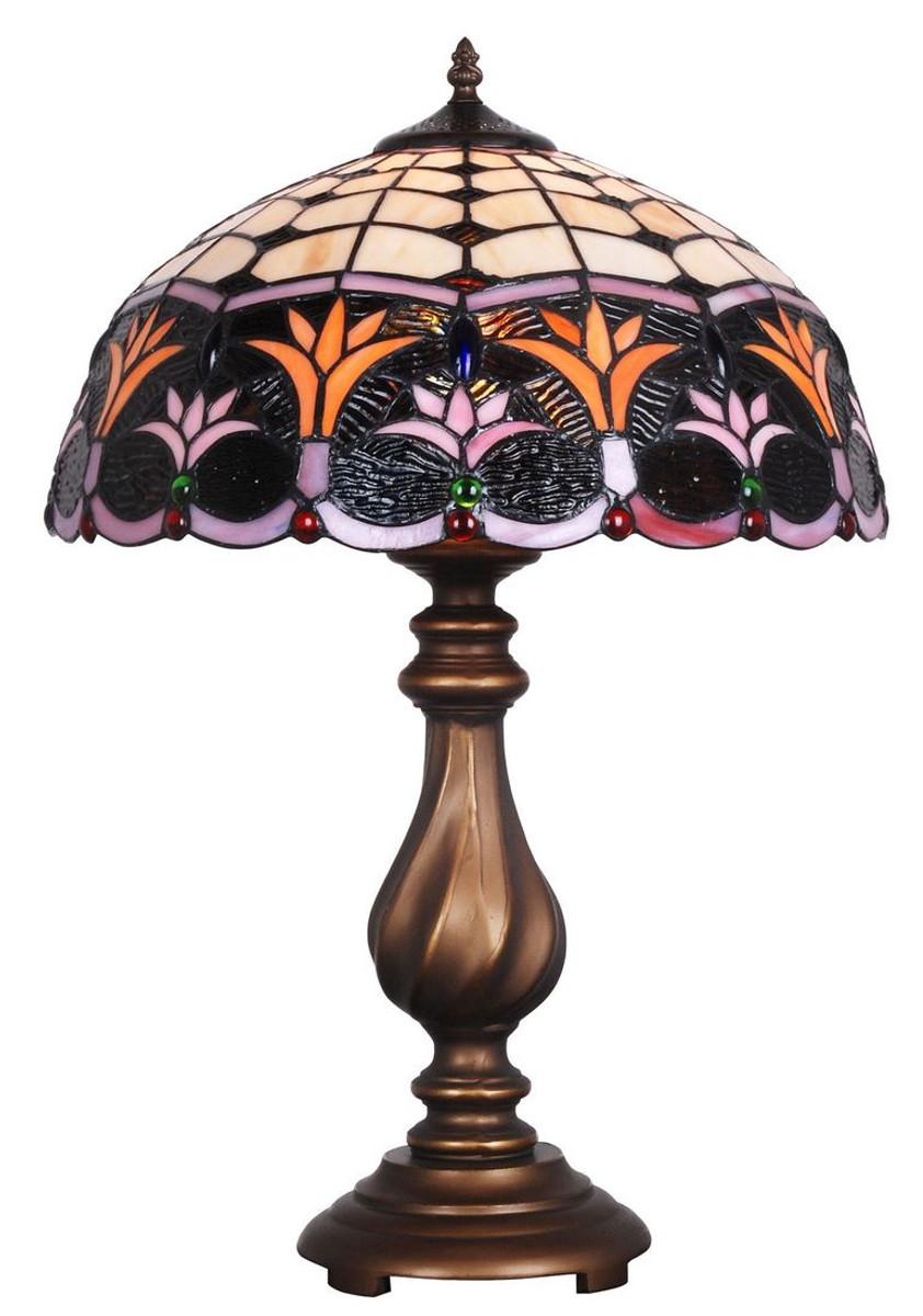Casa Padrino Lampada Da Tavolo Tiffany Di Lusso Bronzo Multicolor O 41 X H 61 Cm Decorazione Hotel E Ristorante Casa Padrino De