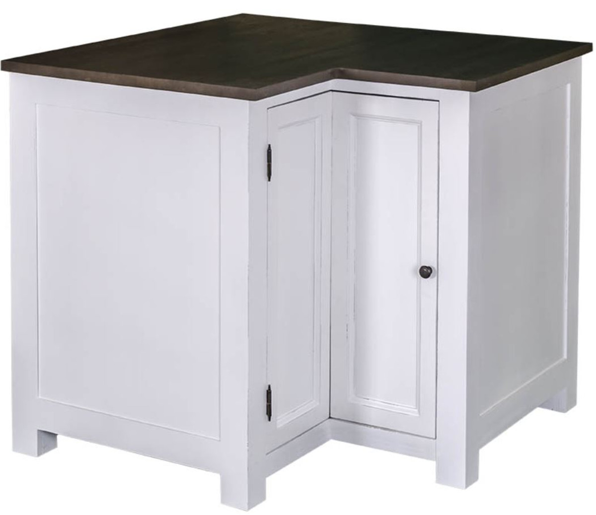 Country Style Kitchen Corner Cabinet