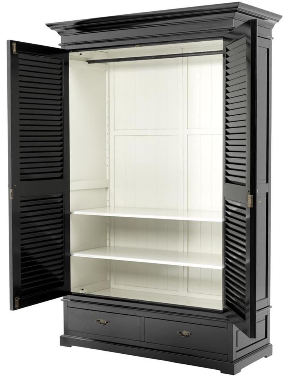 casa padrino luxus schlafzimmerschrank kleiderschrank. Black Bedroom Furniture Sets. Home Design Ideas