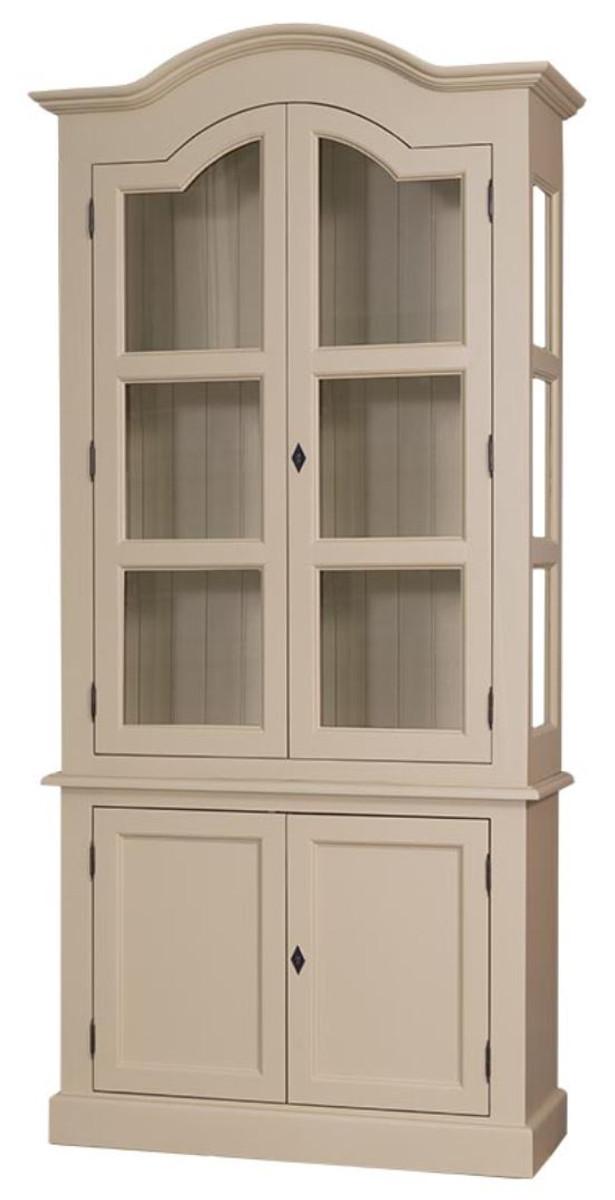 Casa Padrino mobile soggiorno in stile country con 4 ante beige 104 ...