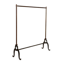 Casa Padrino designer clothes rack - hanger 120 x 37 x H.142cm - iron - very noble
