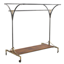 Casa Padrino designer clothes rack - hanger 142 x 100 x H.154cm - iron - very noble