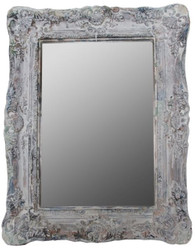 Casa Padrino baroque style mirror / wall mirror antique gray 42 x H. 54 cm - Baroque Furniture