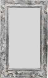 Casa Padrino Barockstil Spiegel / Wandspiegel Antik Grau 30 x H. 50 cm - Barock Möbel