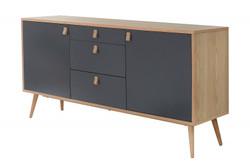Casa Padrino Designer Dresser - Sideboard 150cm x 40cm x H.75cm - Console Table - Hotel Furniture