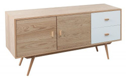 Casa Padrino designer chest of drawers - TV cabinet natural 150cm x 40cm x H.71cm - sideboard