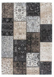 Casa Padrino Living Room Carpet Silver / Multicolor - Various Sizes - Luxury Quality