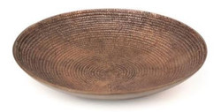 Casa Padrino luxury decorative bowl / fruit bowl bronze Ø 39 x H. 7.5 cm - Luxury Quality
