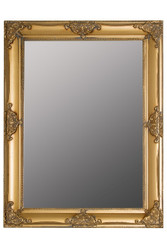 Casa Padrino Baroque Wall Mirror Gold Height 82 cm, width 62 cm - Noble & Magnificent - Vintage Look - Handmade